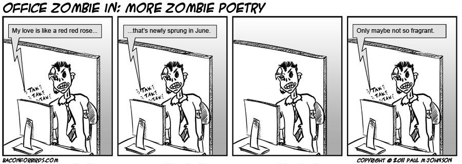 Zombie poetry